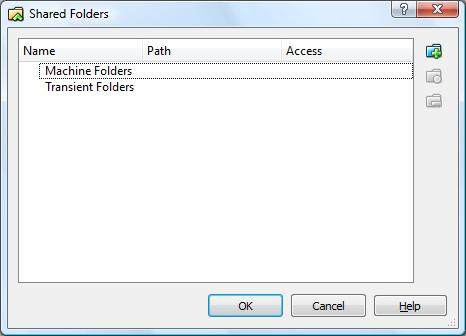 Adding shared folders to a running VirtualBox VM