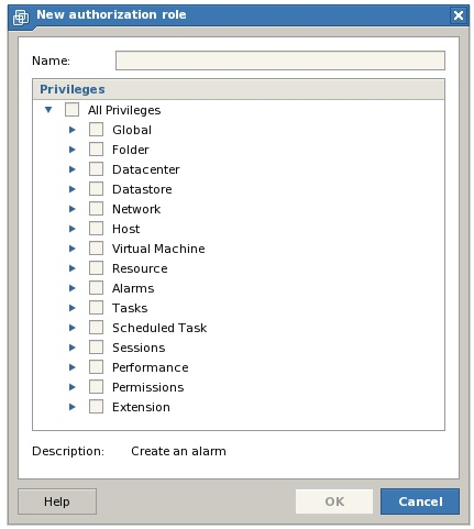 Create a new VMware Server Role